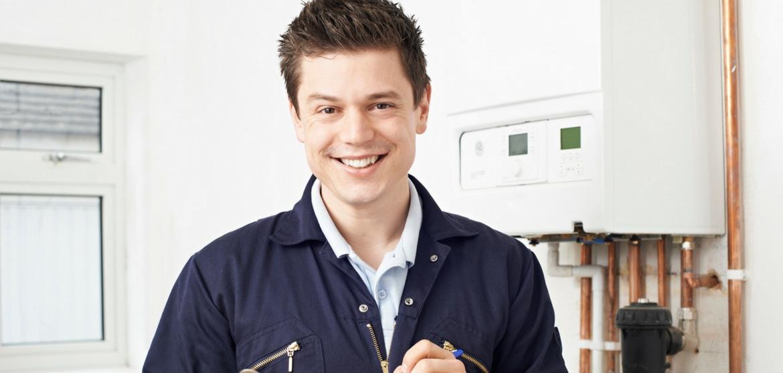 intervento e sostituzione caldaia